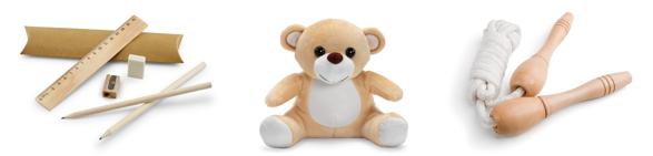 Regalos de empresa personalizados para niños | Catálogo HIDEA