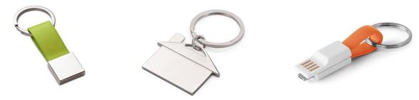 llaveros personalizados para regalo de empresa