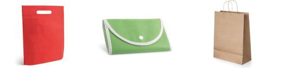 Bolsas personalizadas para regalo y comercio | Catálogo HIDEA